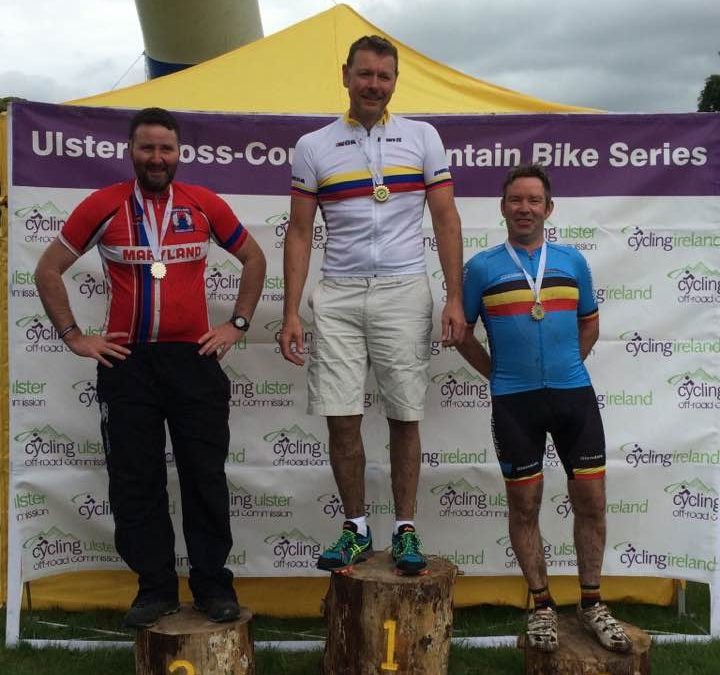 Davison gets Gold at Ulster MTB Champs with Dromara CC youngsters producing the goods