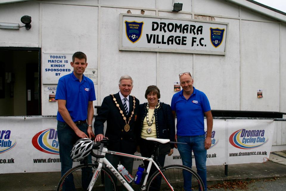Dromara CC Hilly tests the riders
