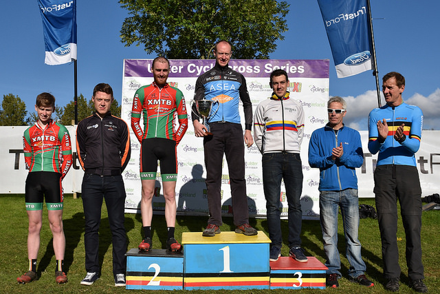 Podiums for the Dromara CC crew at Ulster Cyclocross