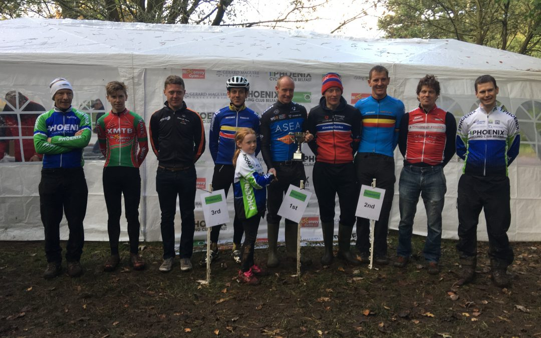 Kellett makes podium at a very mucky course at Lady Dixon