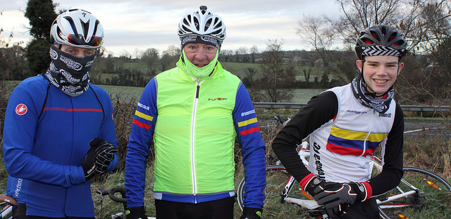 Dromara CC riders out at the sportive and the first MTB XC race
