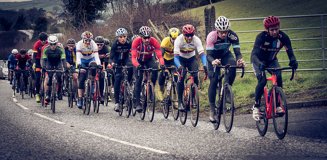 Road Race Season finally starts and Ward scores his first points