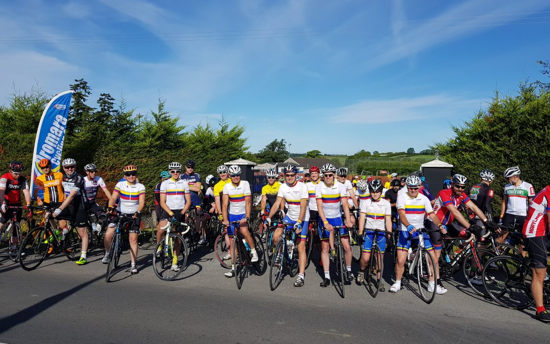 Dromara CC enjoy successful weekend of cycling